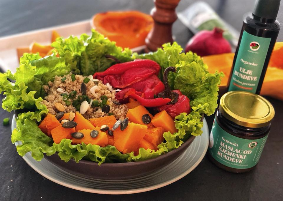 Proteinska bundeva salata