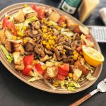 Lagana obrok salata sa šampinjonima