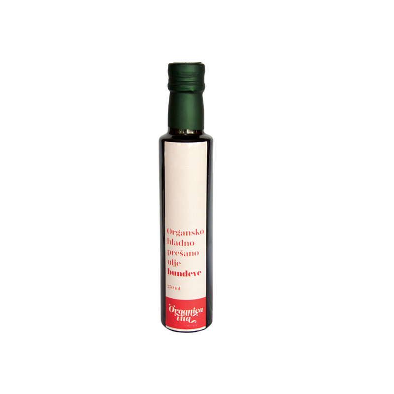 Organsko hladno prešano ulje bundeve