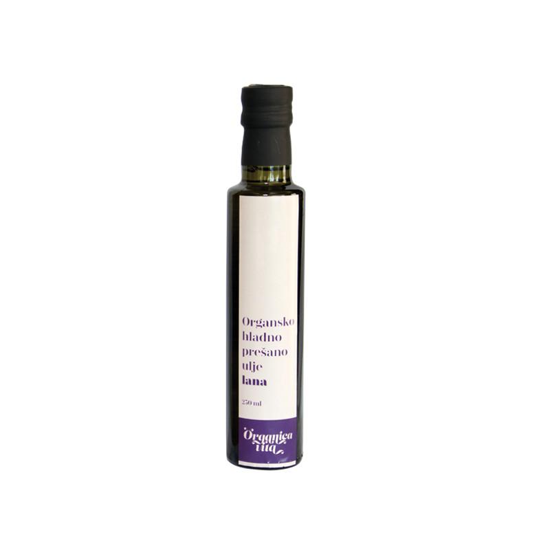 Organsko hladno prešano laneno ulje